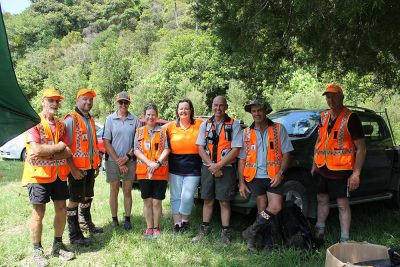 2018 Puketi Kauri Challenge - Far North Land SAR volunteers